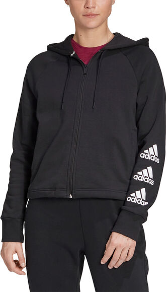 Chaqueta con capucha Stacked Logo Full-Zip Fleece