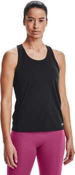 Under Armour Camiseta sin mangas FlyBy mujer Negro