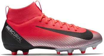 Nike Botas fútbol Superfly 6 Academy GS CR7 MG Rojo
