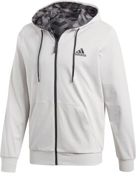 adidas Sport ID Reversible Hoodie Hombre Blanco