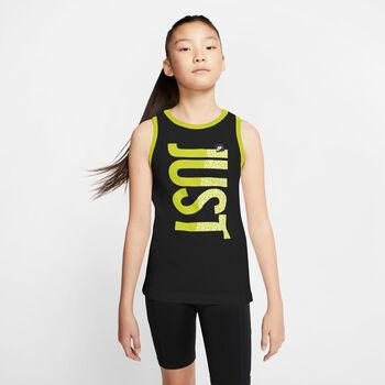 Nike Camiseta de tirantes Sportwear niña Negro