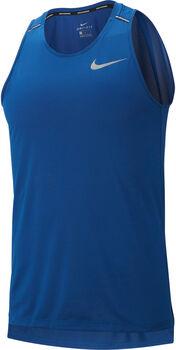 Nike  DRY COOL MILER Camiseta Sin Mangas hombre Azul