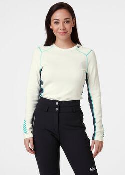 Helly Hansen Camiseta W LIFA MERINO MIDWEIGHT CREW mujer