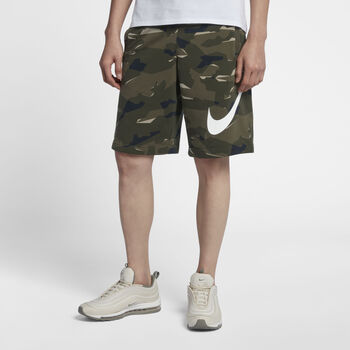 Nike m nsw club camo short ft hombre