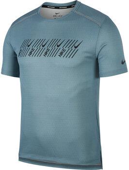 Nike Camiseta Dri-FIT Miler hombre Gris