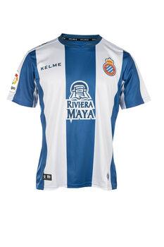 Kelme Camiseta de fútbol 1 MC Espanyol hombre