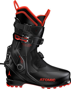 ATOMIC Bota BACKLAND CARBON Black/Red hombre