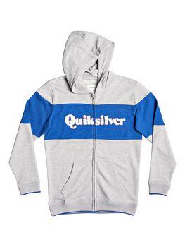 Quiksilver Power Slash - Sudadera con Capucha y Cremallera para Chicos 8-16 niño