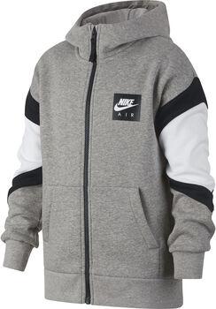 Nike Air hoodie fz niño Gris