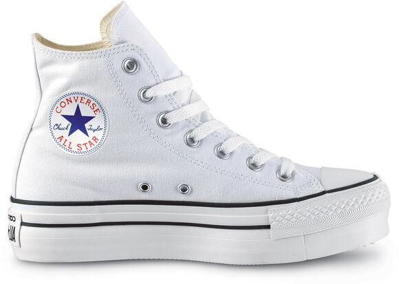 Converse Zapatilla CTAS LIFT HI WHITE/BLACK/WHITE mujer