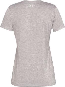 Under Armour Camiseta con cuello de pico UA Tech™ difuminada para mujer Gris