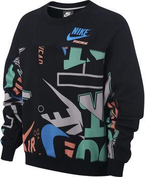 Nike W NSW CREW FLC AOP IDJ mujer