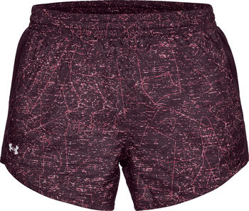 Under Armour Fly by Printed Short Mujer