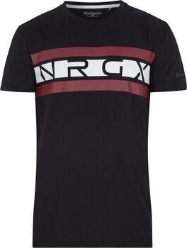 ENERGETICS Camiseta Manga Corta Striggy ux hombre Negro