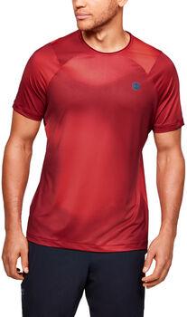 Under Armour Camiseta Manga Corta Rush™ Heatgear® hombre Rojo