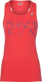 Asics Silver Graphic Tank mujer
