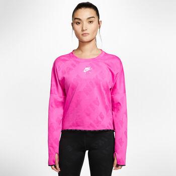 Nike Camiseta manga larga running mujer Rosa