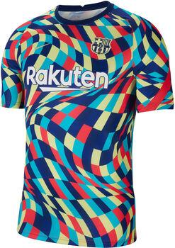 Nike Camiseta Calentamiento Fc Barcelona 20/21 hombre Azul