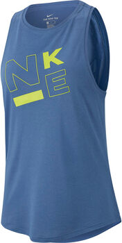 Nike W NK DRY TANK LEG HI-NECK JDI mujer