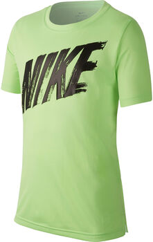 Nike Camiseta de entrenamiento de manga corta Dri-FIT niño Amarillo