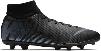 Botas fútbol Nike Mercurial Superfly 6 CLUB MG hombre Negro