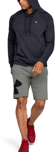 Pantalón corto de tejido Fleece y logotipo UA Rival