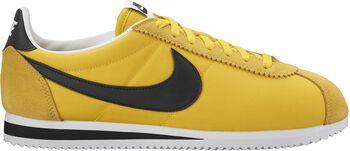 Nike Classic Cortez Nylon Hombre Amarillo