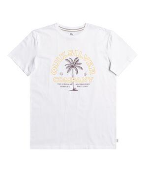Quiksilver Camiseta Manga Corta Shining Hours hombre
