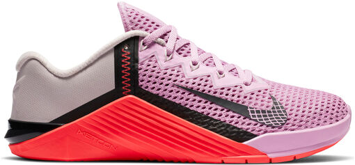 Nike -  Metcon 6 - Mujer - Zapatillas Fitness - Rosa - 39