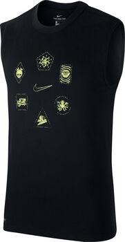 Nike Camiseta Sin Mangas Dri-Fit hombre Negro