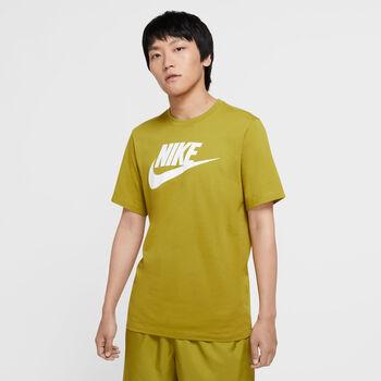 Nike Camiseta manga corta NSW ICON FUTURA hombre Verde