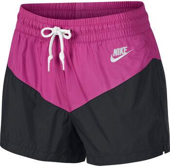 Nike Pantalones cortos tejidos Sportswear Heritage mujer