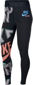 Nike Sportswear Legging Hw aop idj mujer Negro