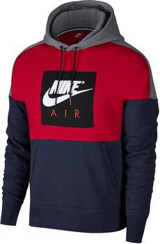 Nike Sportswear Hoodie FLC PO Hombre Rojo
