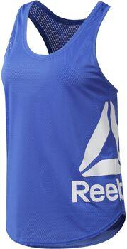 Reebok Workout Ready Mesh Tank Mujer Azul