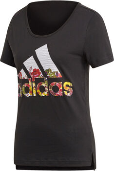 ADIDAS Badge of Sport Flower Tee mujer