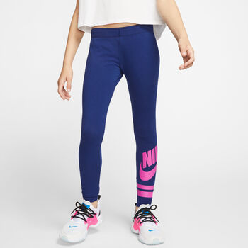 Nike Sportswear graphic leggings niña Azul