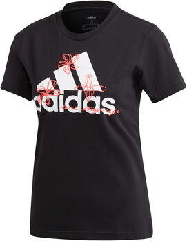 adidas Camiseta Floral Graphic mujer
