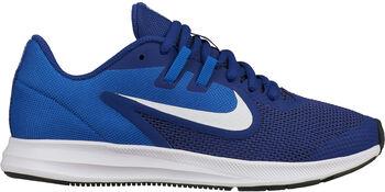 Zapatilla Nike Downshifter 9 Big Kids Sh Azul