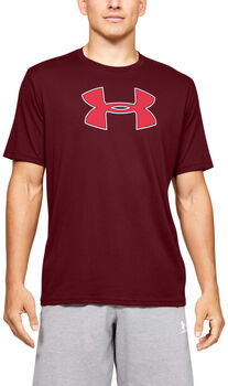 Under Armour Camiseta de manga corta UA Big Logo para hombre Rojo