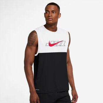 Nike Camiseta Sin Mangas Pro Graphic hombre Negro