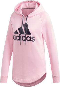 ADIDAS Women's Must Haves Badge of Sport Over-head Hoodie mujer