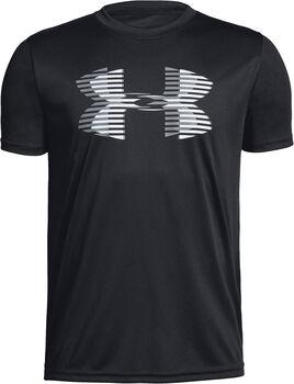Under Armour Camiseta m/c Tech Big Logo Solid Tee niño Negro