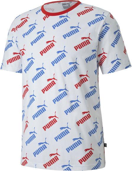Camiseta Manga Corta Amplified Aop