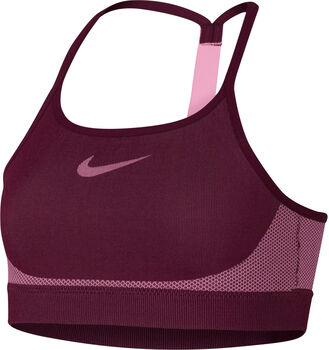 Nike Sports Bra Seamless niña Rojo