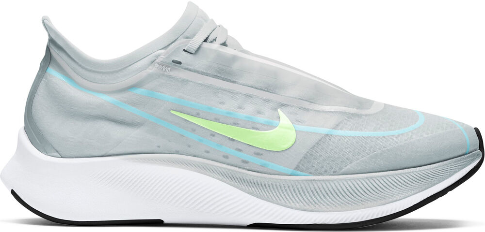 Nike - Zapatilla WMNS ZOOM FLY 3 - Mujer - Zapatillas Running - Gris - 6