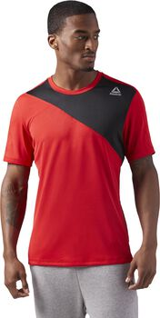 Reebok Workout Ready Tech Top Hombre Rojo