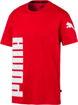 Puma Camiseta Manga Corta Big Logo hombre