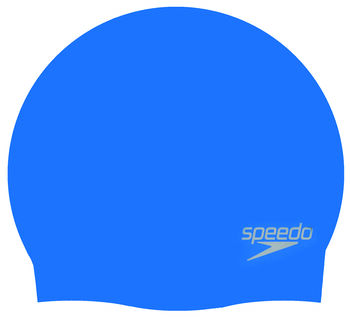 Speedo Gorro de natación Plain Moulded Silicone Cap