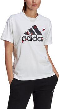 adidas Camiseta Manga Corta Valentine mujer